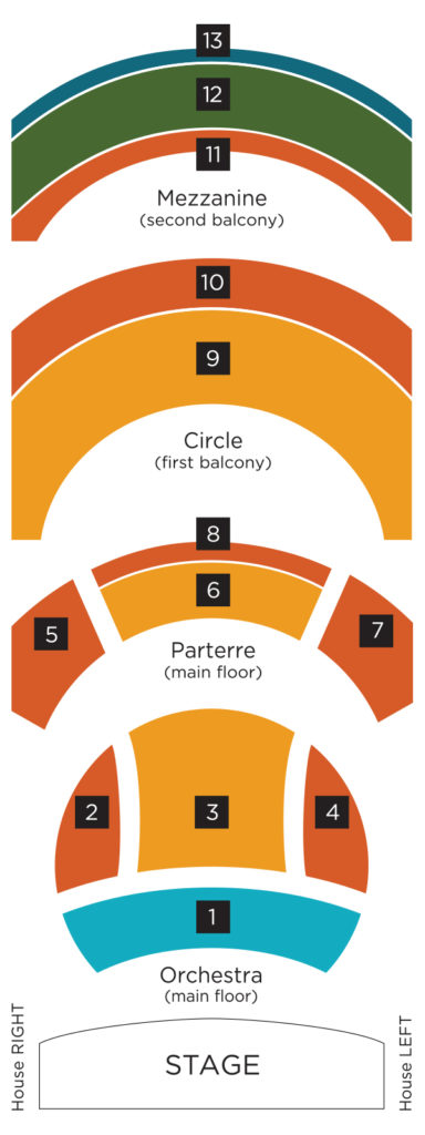 Organ Seating Chart The Madison Symphony Orchestra