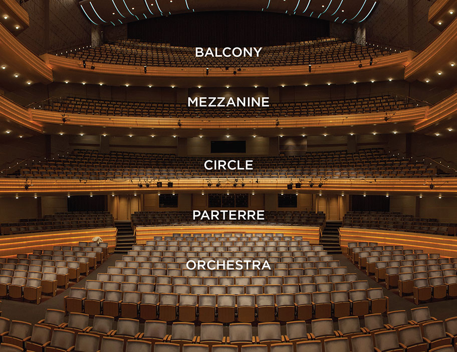 Symphony Seating Charts The Madison Symphony Orchestra