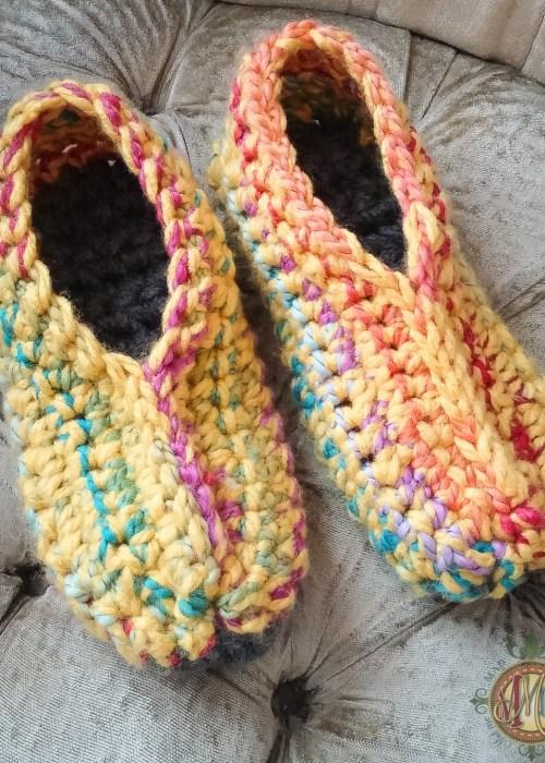 Ugly Slippers Crochet Pattern