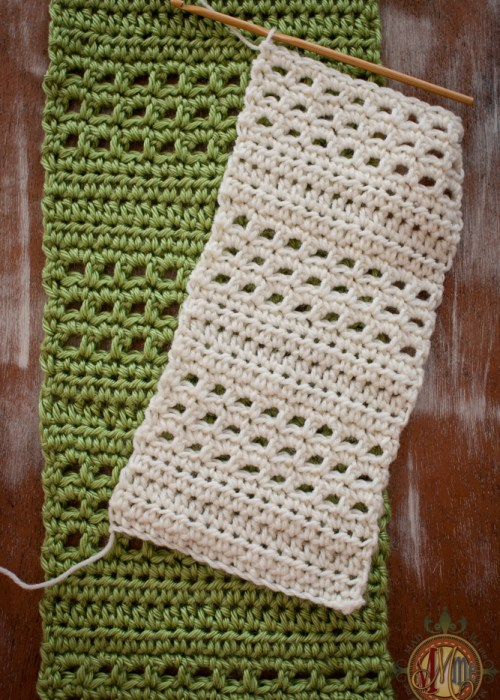 Crochet Class! Beginner Scarf Using only Chains, Sc and Hdc.