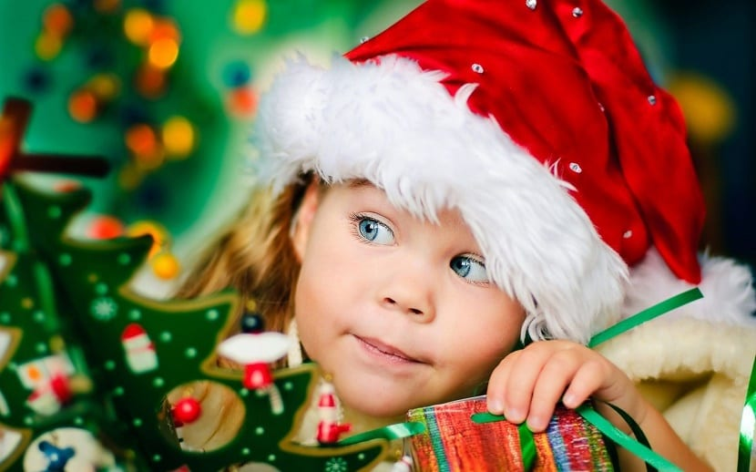 Decoración de Navidad con niños