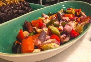 Verduras ecológicas en la carta de La Vaquería Montañesa