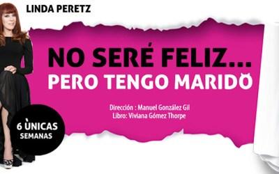 NO SERÉ FELIZ PERO TENGO MARIDO en el Teatro Muñoz Seca