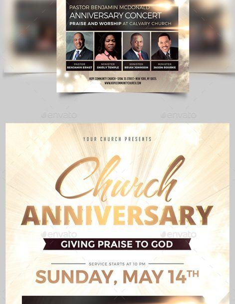 Church Anniversary Flyer - MadridNYC