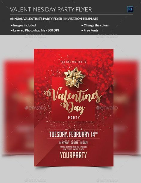 Valentines Day Flyer - MadridNYC