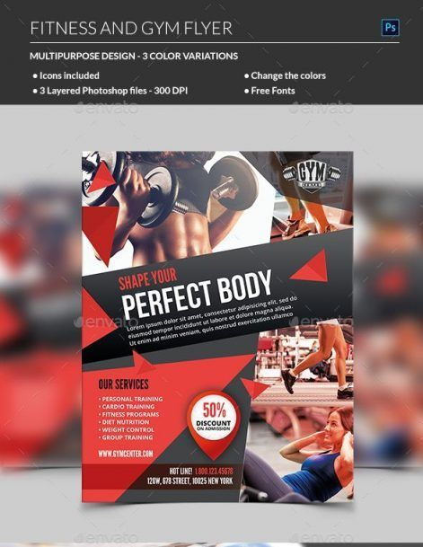 Fitness Flyer - MadridNYC