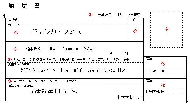 Resume Format Japan Avon Resumes Call 91 9889101010 Writing The Rirekisho John Turningpins Mad Tokyo