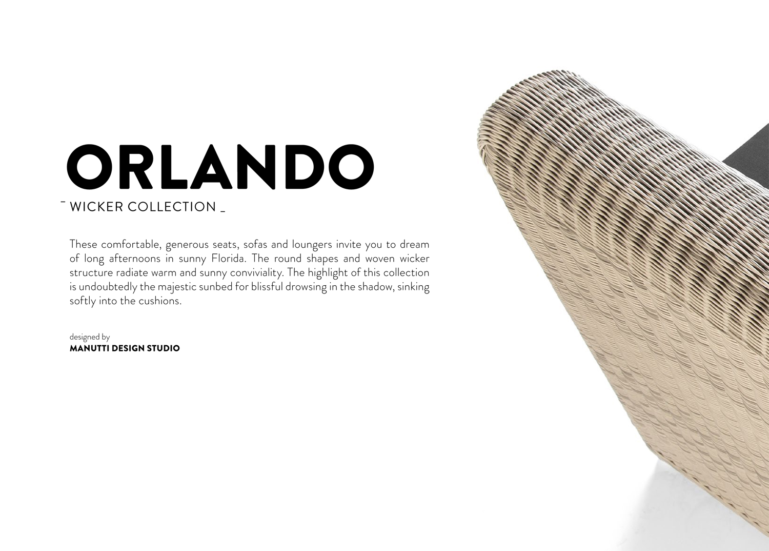 Orlando Sedie Orlando Wicker Collection