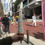 【大阪府】40センチもある日本一長いソフトクリームを求めて、Long Softcream アメリカ村店へ!!