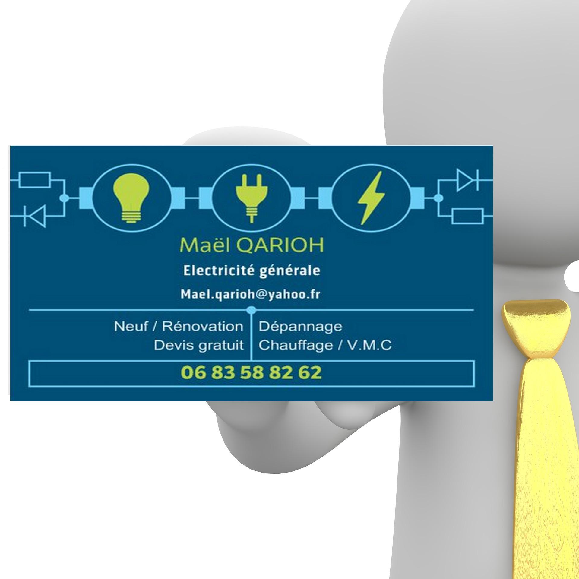 Carte Visite Electricien Fabulous De Rate