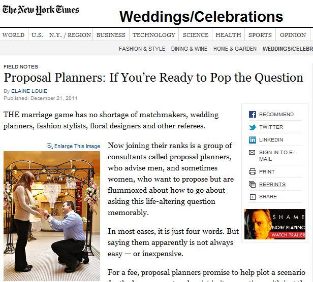 wedding proposal planner - Wedding Decor Ideas - proposal event planning