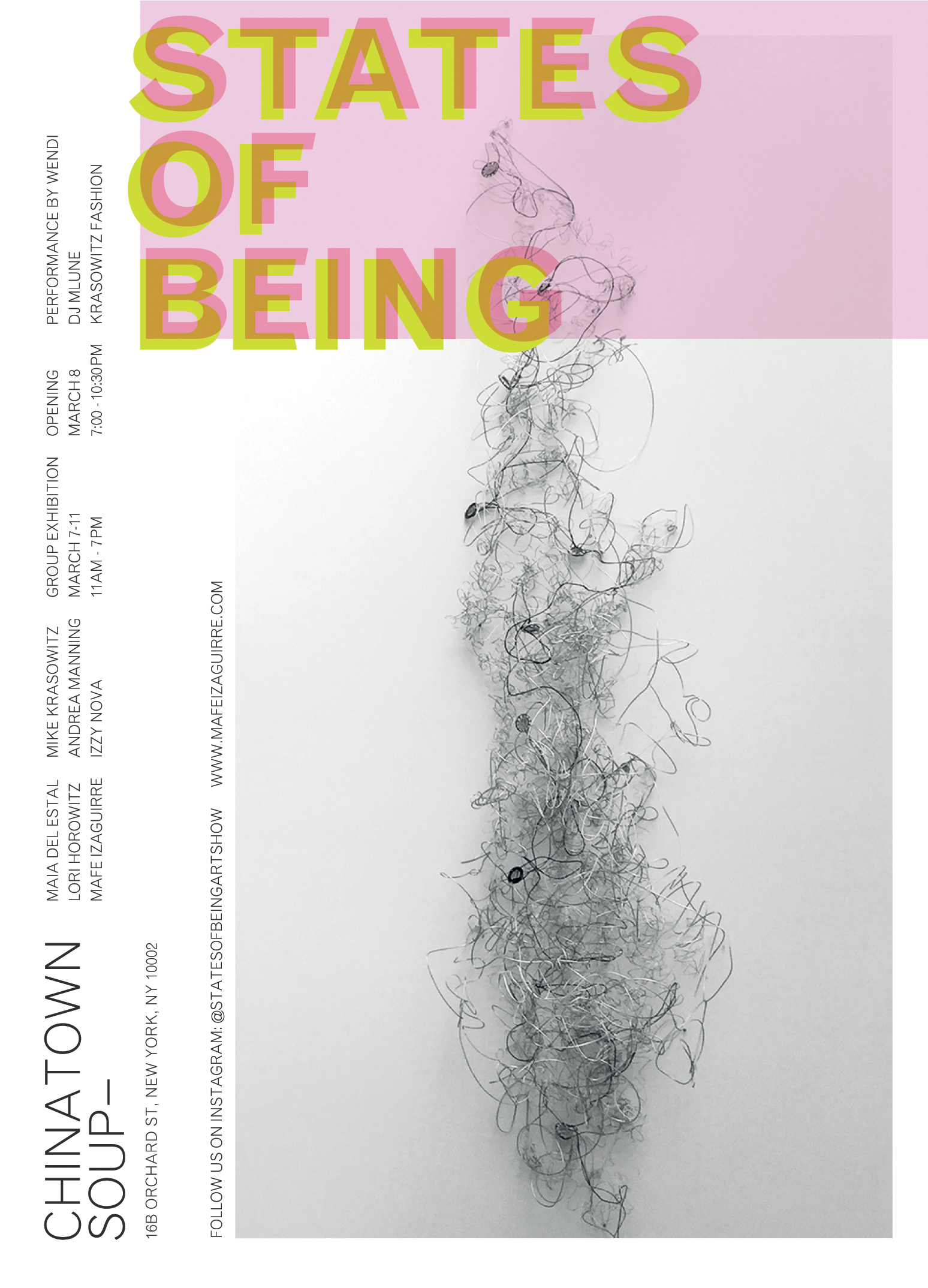 Arte Visual Group States Of Being Mafe Izaguirre