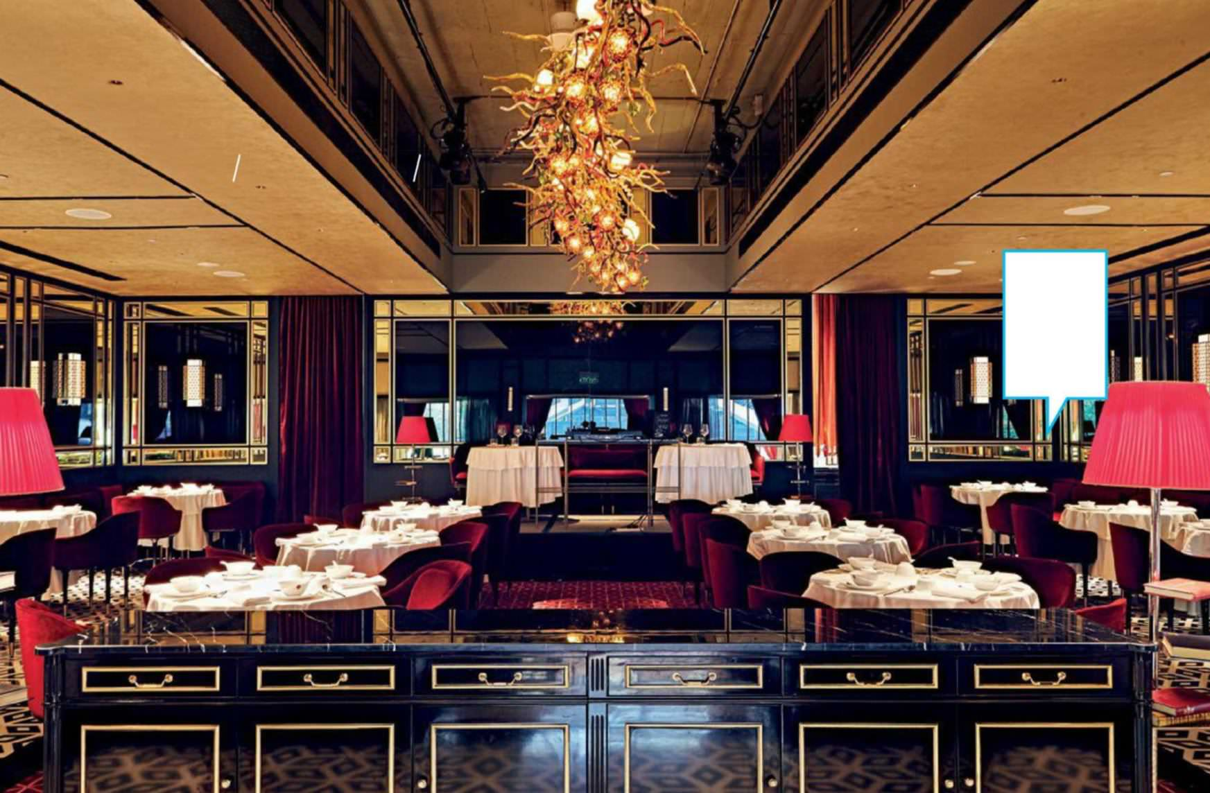 Art Deco Design Cuisine The Chinese Restaurant That Doesn T Want To Be A Conventional