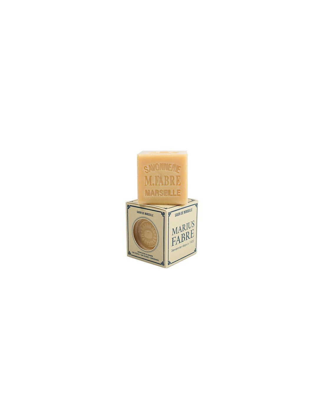 Salon De Massage Marseille Cube Of Savon De Marseille Nature Marius Fabre Palm Oil 200 G