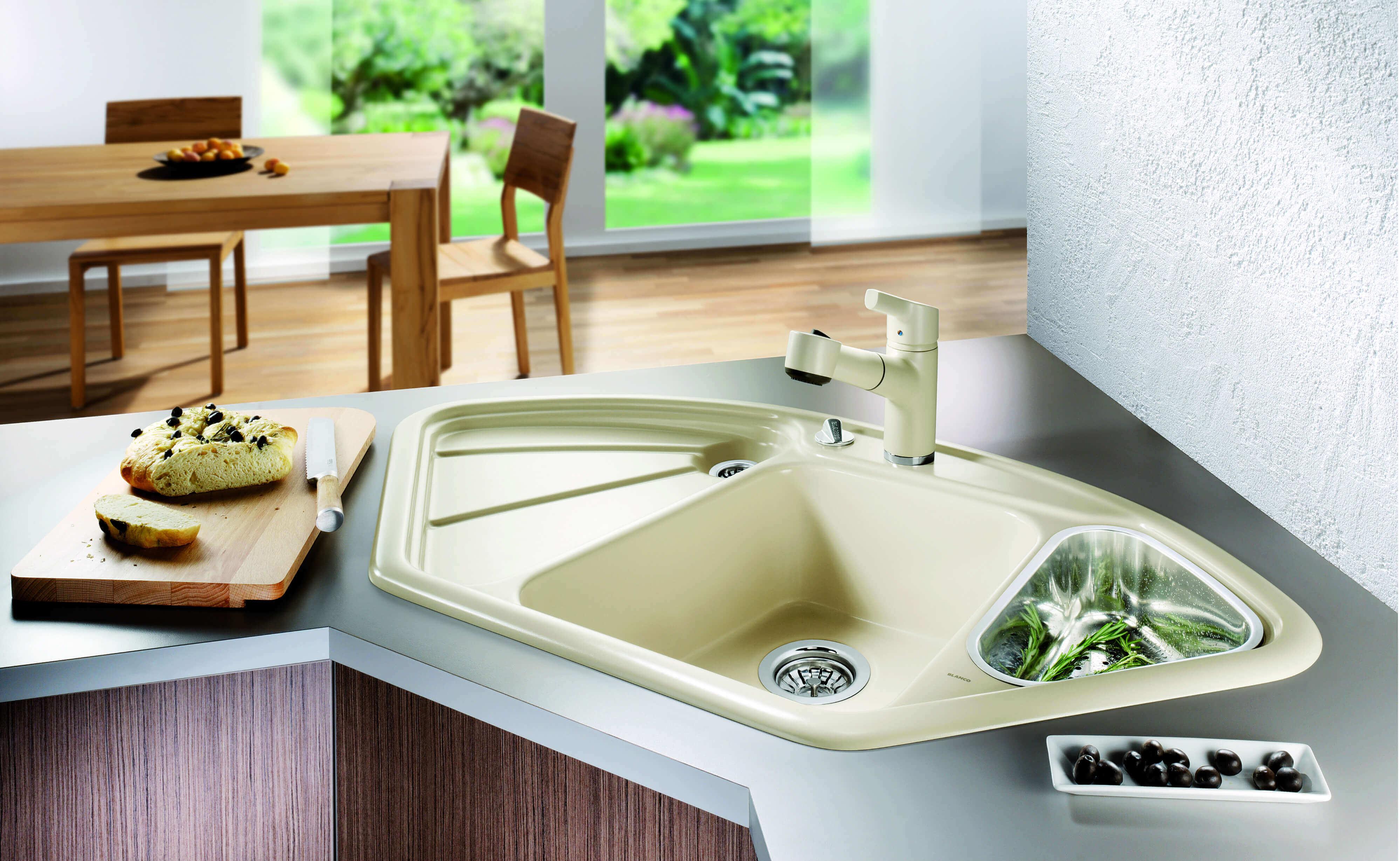 Keramik Waschbecken Küche Nachteile | Einbau Unterbau Flächenbündig ...