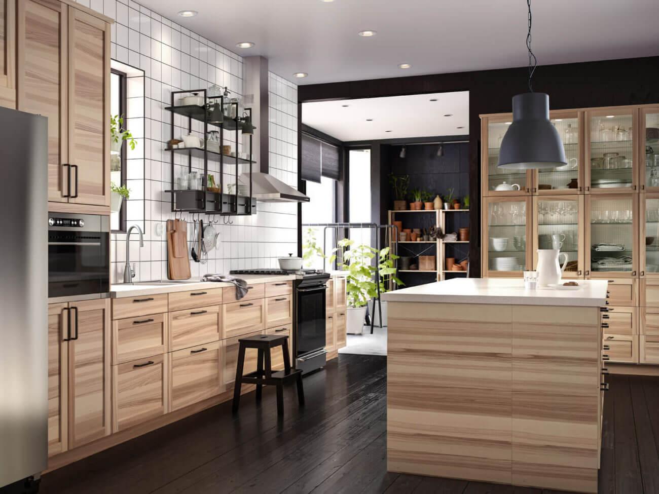 Küche Beton Holzoptik | Naturgewalten Holz Und Stein ...