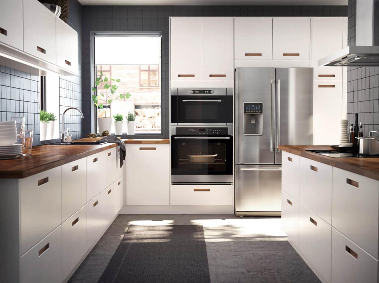Amerikanischer Kühlschrank In Küche Integrieren : Ikea küche kühlschrank einbauen neue ikea küche unter