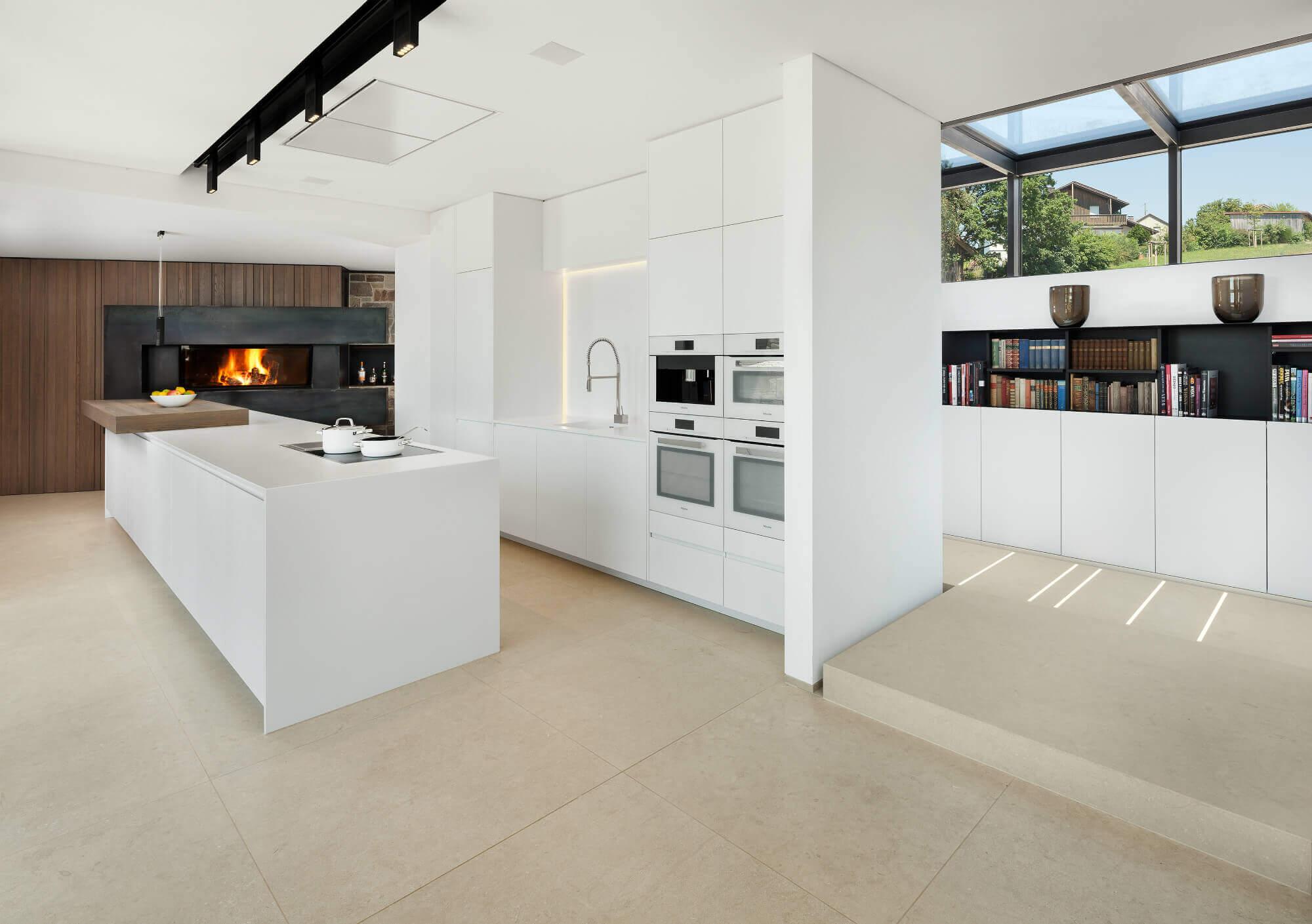Moderne Wohnzimmer Mit Offener Kuche Offene Kuche Mit Wohnzimmer