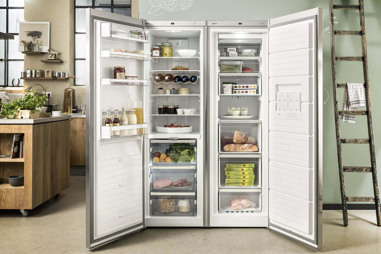 Side By Side Kühlschrank Quoka : Moderne küchen mit side by side kühlschrank küche nm interieur