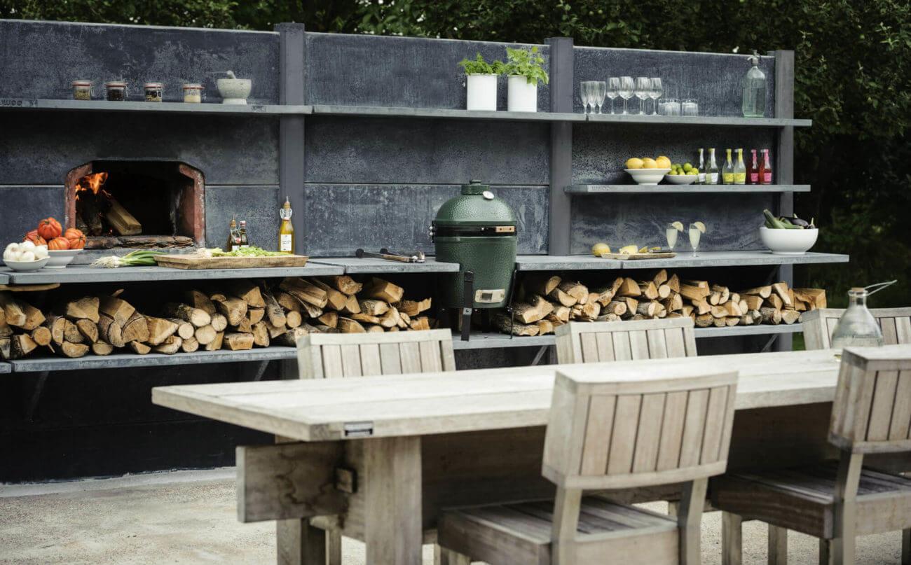 Outdoorküche Holz Xl : Outdoorküche holz xl outdoor küche mit großer terrasse remo m