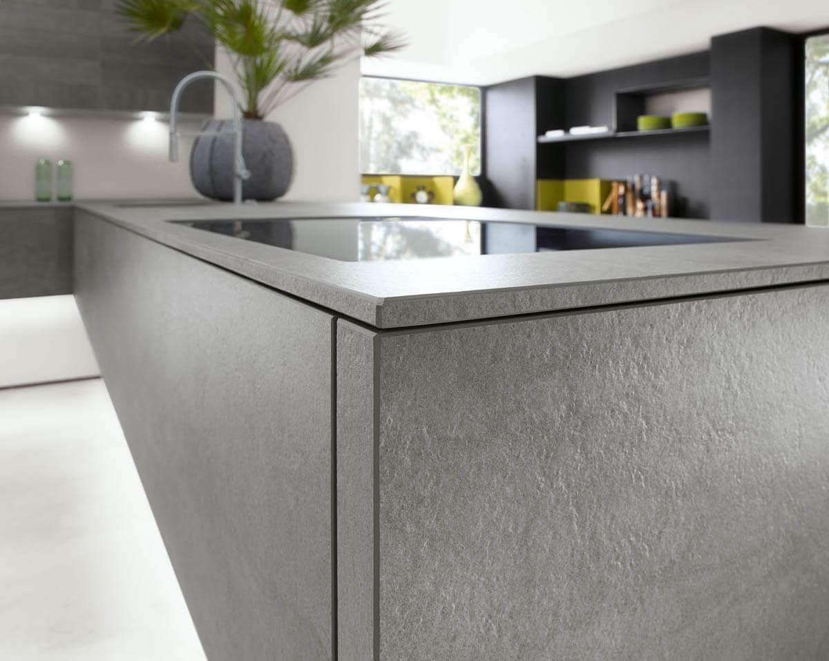 k che wei holz beton artwood 22w wildeiche rustikal lux 361 wei hochglanz. Black Bedroom Furniture Sets. Home Design Ideas