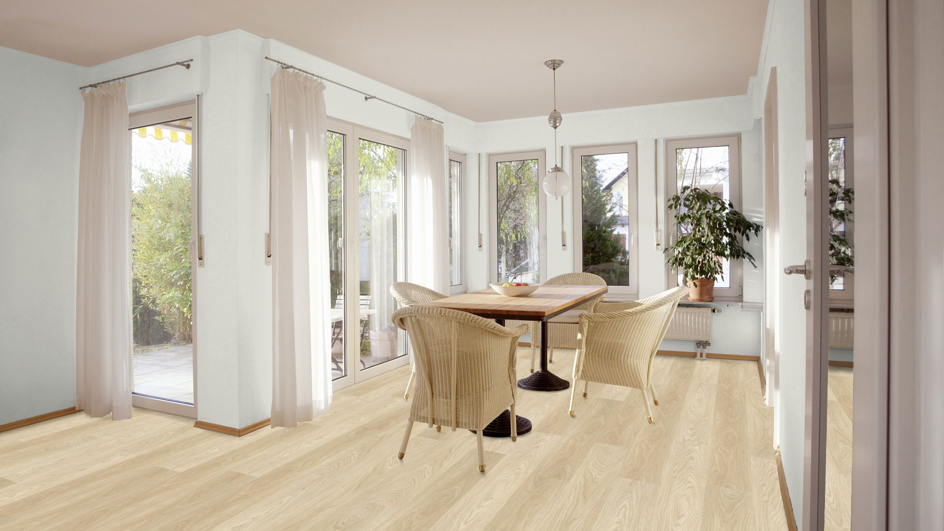 Fußboden In Der Küche ~ Fußboden küche esszimmer ferienhaus landhaus laier landhaus in