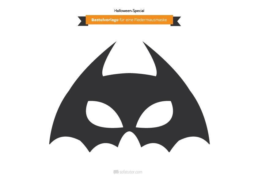 Cozy Tolle Batman Maske Schablone Bilder Vorlagen Ideen