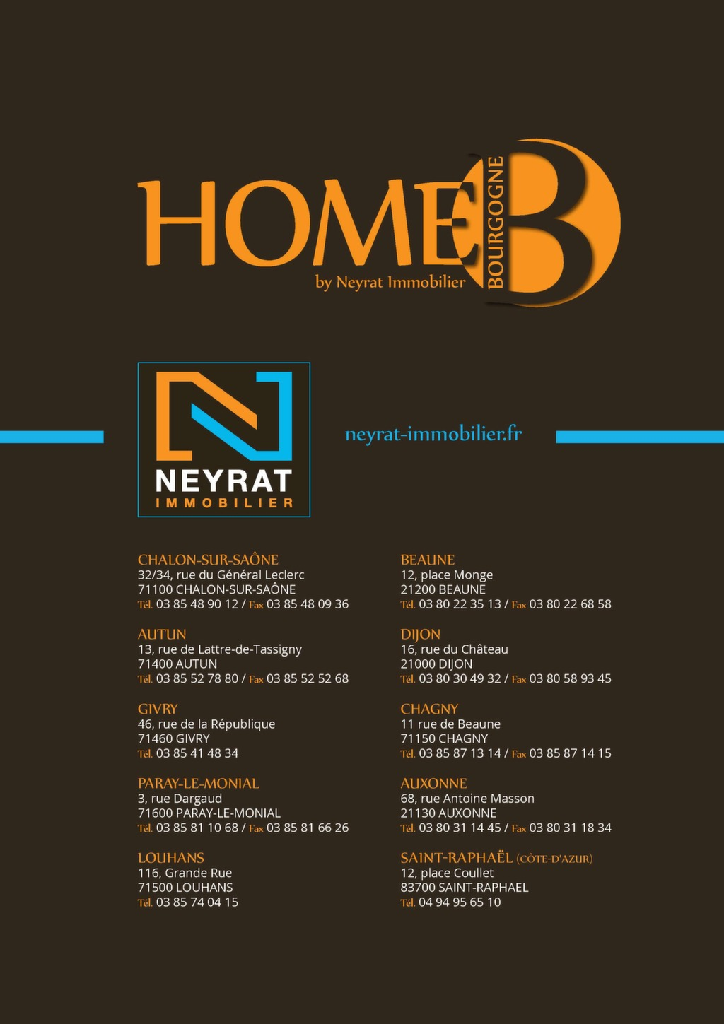 Cabinet Neyrat Dijon Home B By Neyrat Immmobilier Magazine Immo