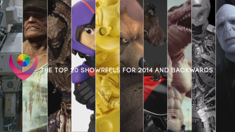 The top 20 showreels from 2014 and backwards