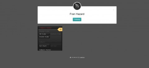 Fran Hazard – CalipersMaster Plugin for ZBrush