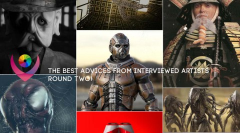 The best advices from interviewed artists round two!