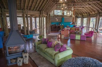 Comfortable accommodation on safari