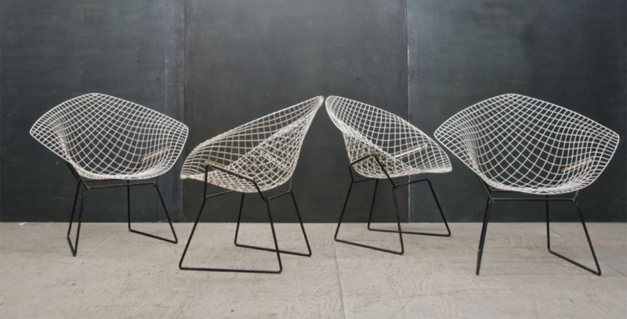 Diamond Sessel Harry Bertoia Diamond Chair Bertoia Small Diamond Chair With Seat