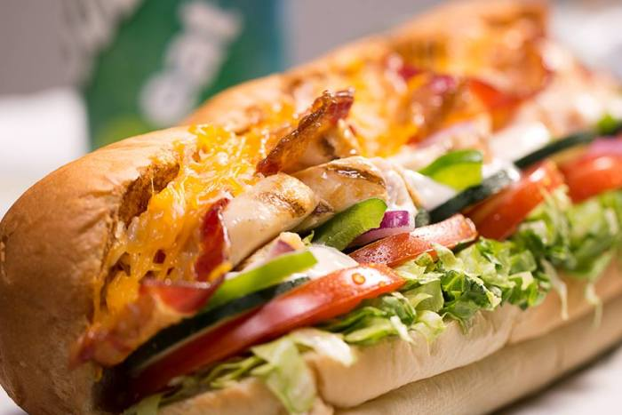 The juicy, fiery, zesty Chicken Teriyaki Sub