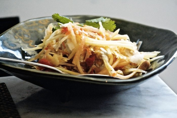 Salted Egg Papaya Salad | foodpanda Singapore