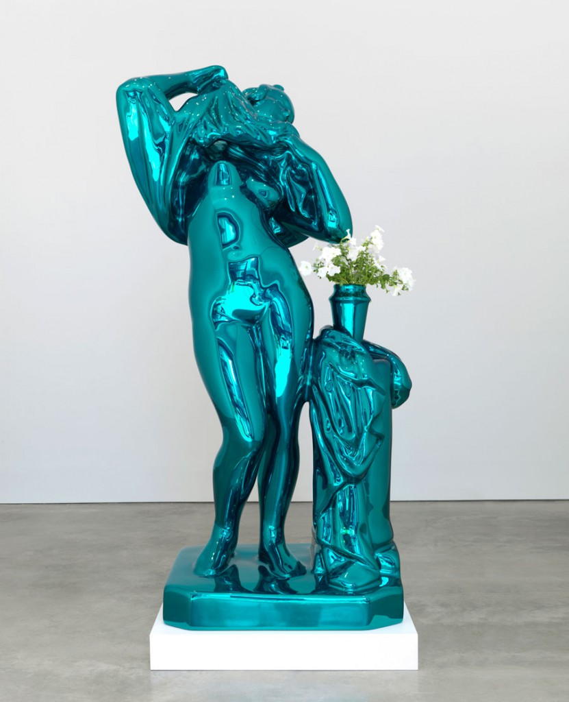 Arte Povera Venus Jeff Koones Metallic Venus Magazine Contemporary Culture