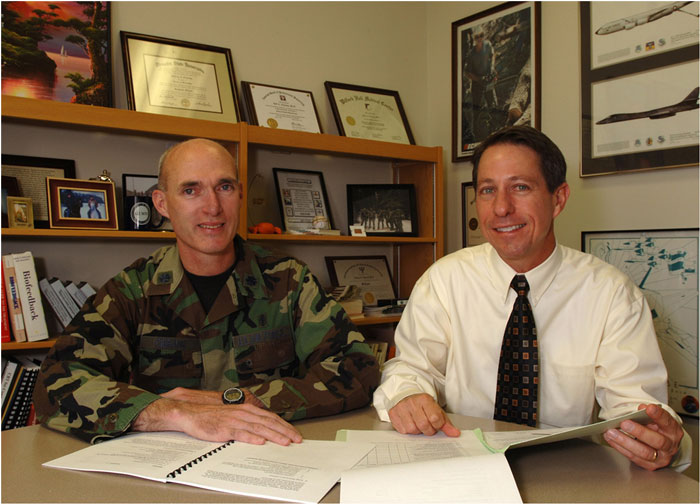 Curing invisible wounds - Mission magazine UT Health Science - air force psychologist