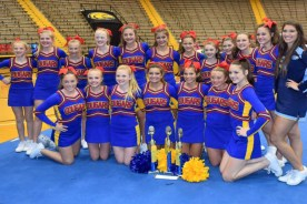 SCA JR High Cheerleaders over all first place winner at…