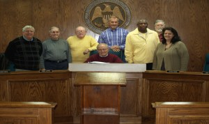 Magee Board of Alderman Meeting