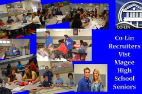 Co-Lin Recruiters Visit Magee High School