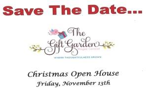 The Gift Garden Christmas Open House