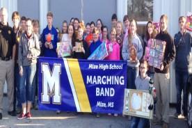 Mize Band Donates Toys