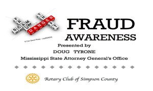 Rotary Club - Fraud Awareness Conference @ Nutritional Services Building at Boswell Regional Center