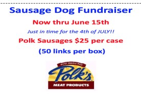 Sausage Dog Fundraiser