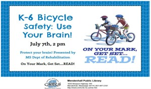 K-6 Bicycle Safety Mendenhall Library