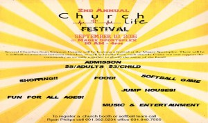 2ND ANNUAL CHURCH LIFE FESTIVAL @ 2ND ANNUAL CHURCH LIFE FESTIVAL | Magee | Mississippi | United States