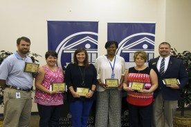 Co-Lin Alumni Association Honors Outstanding Faculty, Staff members