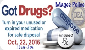 Drug Disposal @ Magee PD