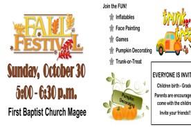 First Baptist Church Fall Festival