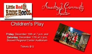 AWESTRUCK COMMUNITY THEATER Children's Play